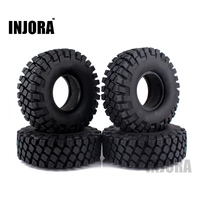 4PCS 114MM 1 9 Rubber Rocks Tyres Wheel Tires For 1 10 RC Rock Crawler Axial