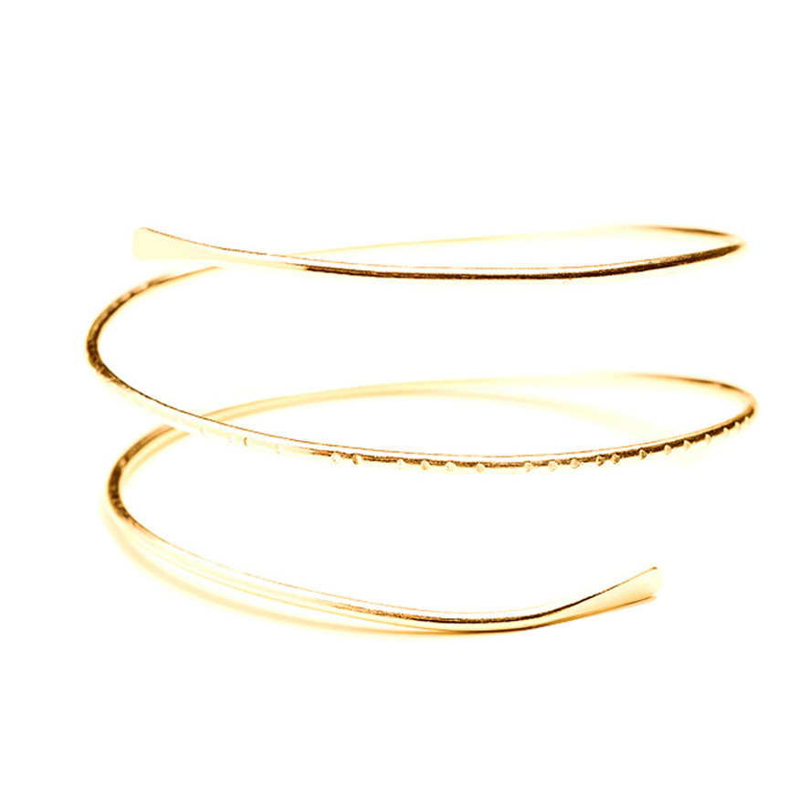 Fashion Open Arm Bracelet Arm Bands cb5feb1b7314637725a2e7: Gold|Silver