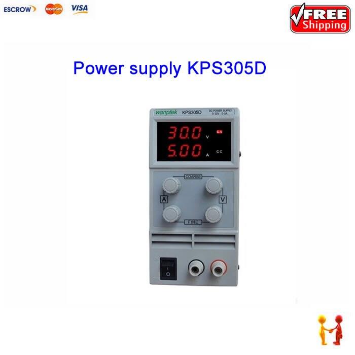 ФОТО KPS305D 30V 5A Switch DC power supply Digital Display adjustable Mini DC Power Supply