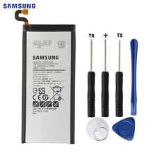 SAMSUNG Original Replacement Battery EB-BG928ABE For Samsung GALAXY S6 edge Plus G9280 Edge+ Authentic Phone Battery 3000mAh цена