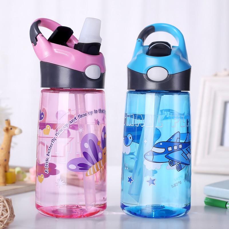 Wasser Flasche Mit Schnalle 450 ml Outdoor Kinder Sport Flasche Kraft Sport Gesundes Leben Wandern Klettern Flasche Für Wasser Mein flasche