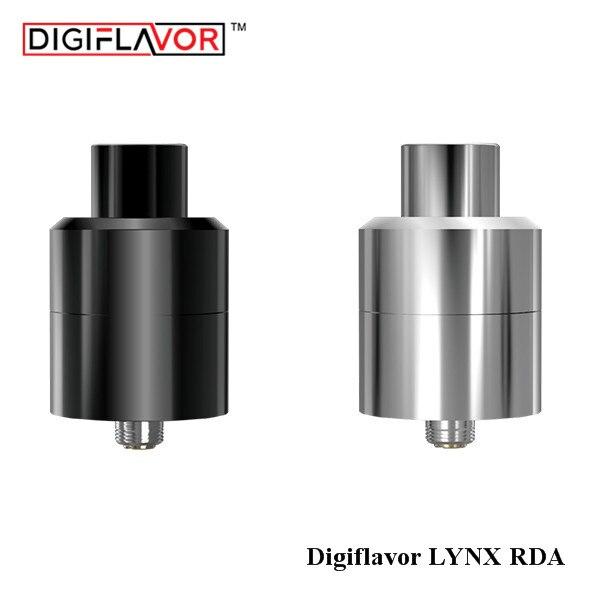 Liquidation!! D'origine Digiflavor LYNX RDA Réservoir 25mm de Contrôle Du Flux D'air pour MTL 2 ml Reconstructible Dripping Cigarette Électronique atomiseur
