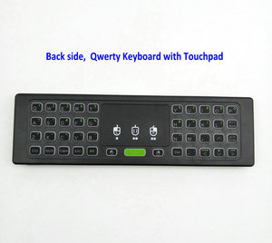 Image 4 - TK60 Backlight 2.4G Lucht Muis Toetsenbord Touchpad Voice 21 IR Leren voor Android Smart TV Box PC PK MX3 t3 T6 H18 afstandsbediening