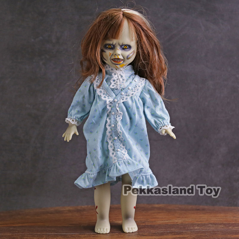 цены на Mezco Action Figure Horror Living Dead Dolls Presents The Exorcist PVC Halloween Decoration Collection Model Toys в интернет-магазинах