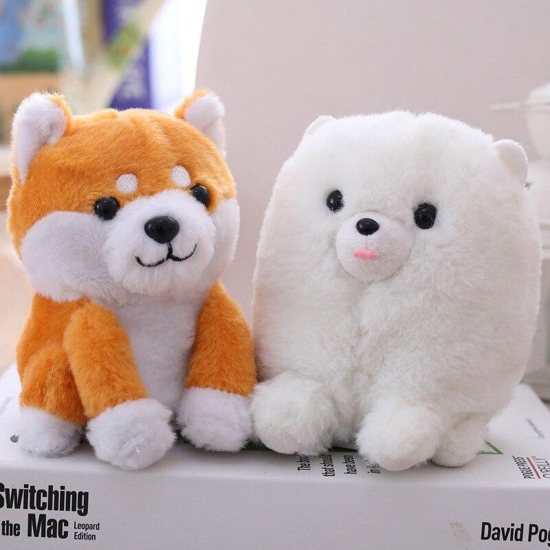 Electronic Dogs Interactive Electronic Pets RobotTalking Speaking Nodding Dog Shiba Inu Plush Toys For Children Birthday Gifts