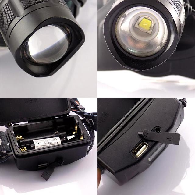 Powerful Cree XML L2 Led Headlamp