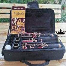 Bb 17 кнопок бакелитовый кларнет популяризированный товарный знак G кларнет падающая Мелодия B кларнет Медные Кнопки G кларнет