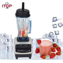 ITOP Commercial Professional Juicer Ice Crusher Blender Multifunctional Kitchen Appliance Food Mixer