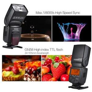 Image 2 - YONGNUO YN568EX III sans fil TTL HSS Flash Speedlite pour Canon 1100d 650d 600d 700d DSLR caméra Flash Speedlite