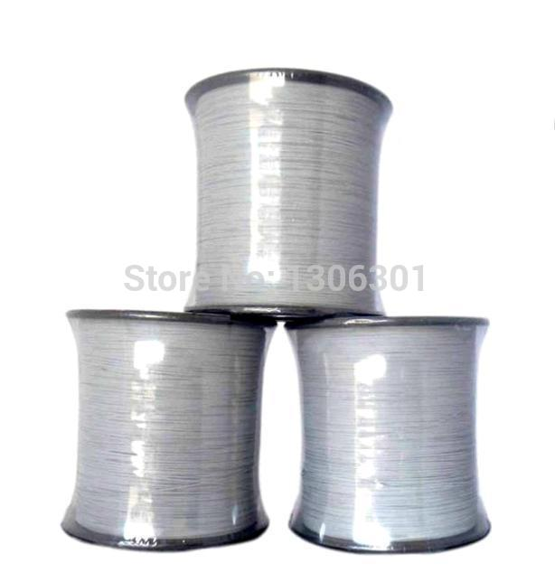 2.0mm normal light reflective thread high visibility one- sided reflective  warning safety silk Garment accessories