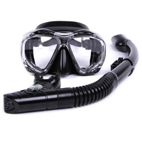 Whale Brand Professional Diving Mask Snorkel Scuba Gear Swimming Mask With Wide View Diving Mask Goggles