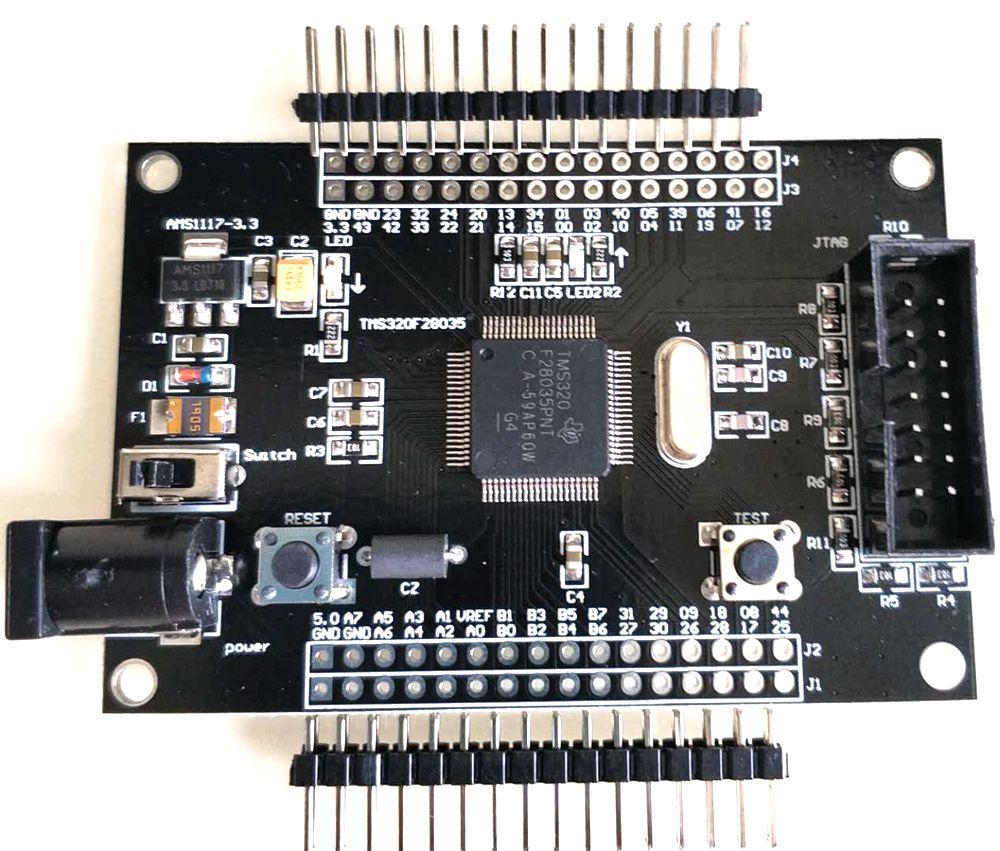 Image 3 - TMS320F28035 Minimum System Board Core Board Development BoardContactors   -