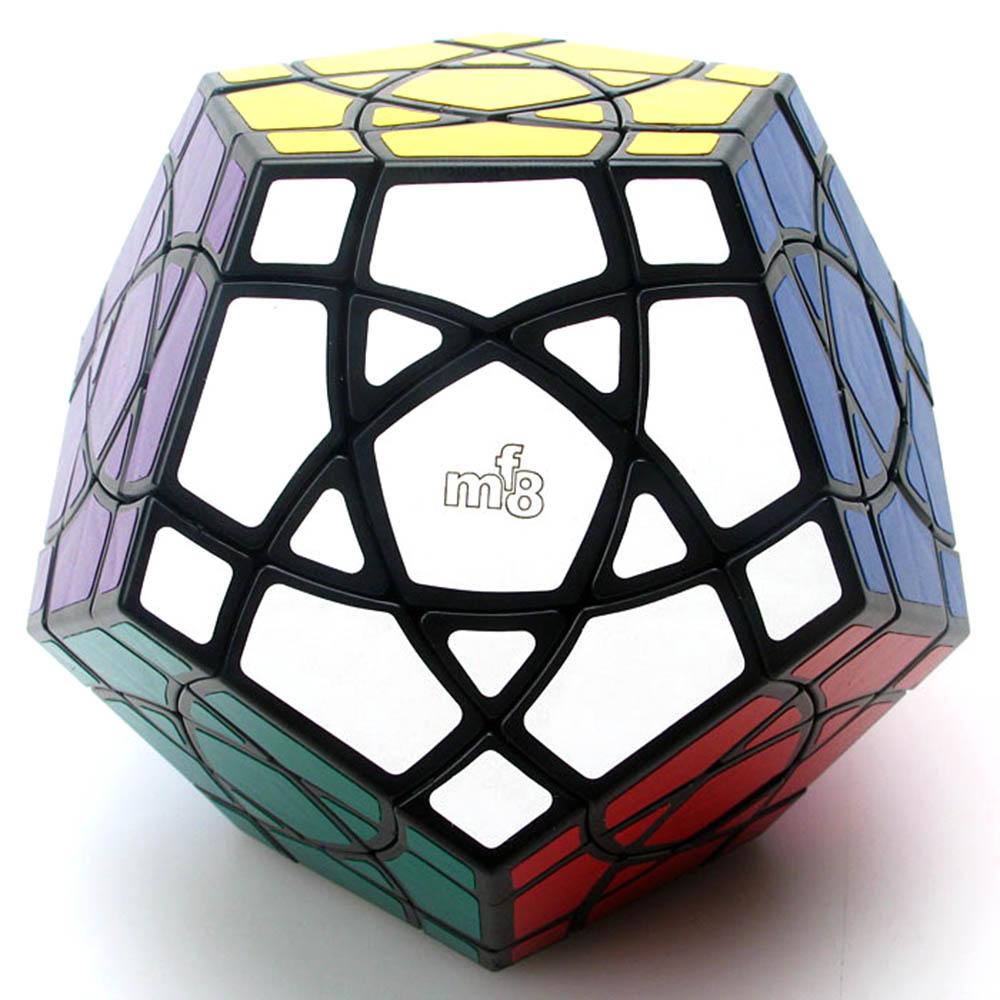 MF8 Cubes magiques Dodecahedron sinueux Puzzle Cube de vitesse jouets éducatifs cadeaux pour enfants enfants