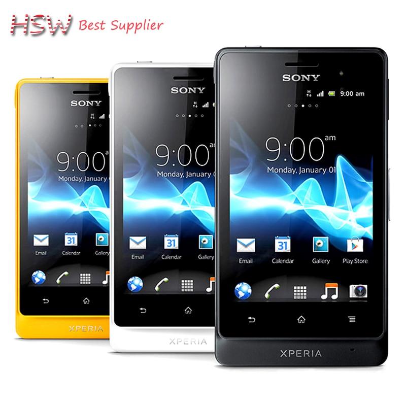 hot sale Unlocked Original Sony Xperia go ST27i Cell phone 5MP Camera Wifi GPS Android