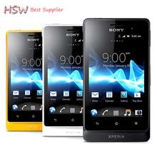Горячая продажа разблокирована оригинальный Sony Xperia Go ST27i сотовый телефон 5MP Камера Wi-Fi GPS Android Sony ST27 смартфон Бесплатная доставка