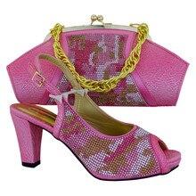 Frauen Schuhe Und Handtasche Entsprechen Mode Pumpen Top Qualität Italienische Schuhe Mit Passender Tasche Für Party MM1013