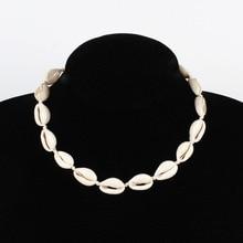 Rope Chain Seashell Necklace Choker