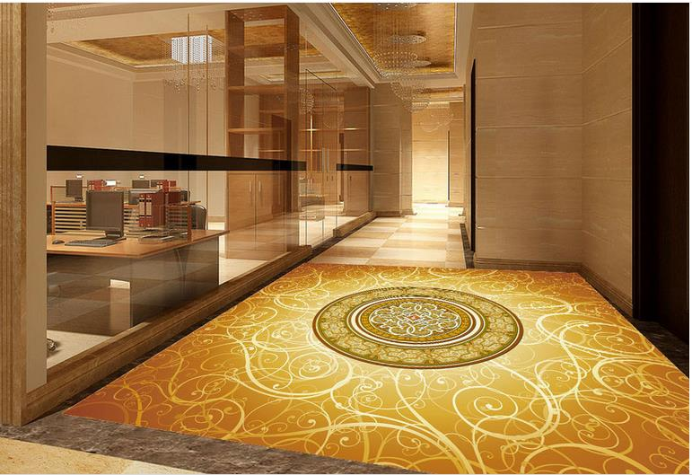 ФОТО 3d wallpaper custom 3d flooring painting wallpaper room murals floor 3 d design decorative pattern mall family 3d photo wallpaer