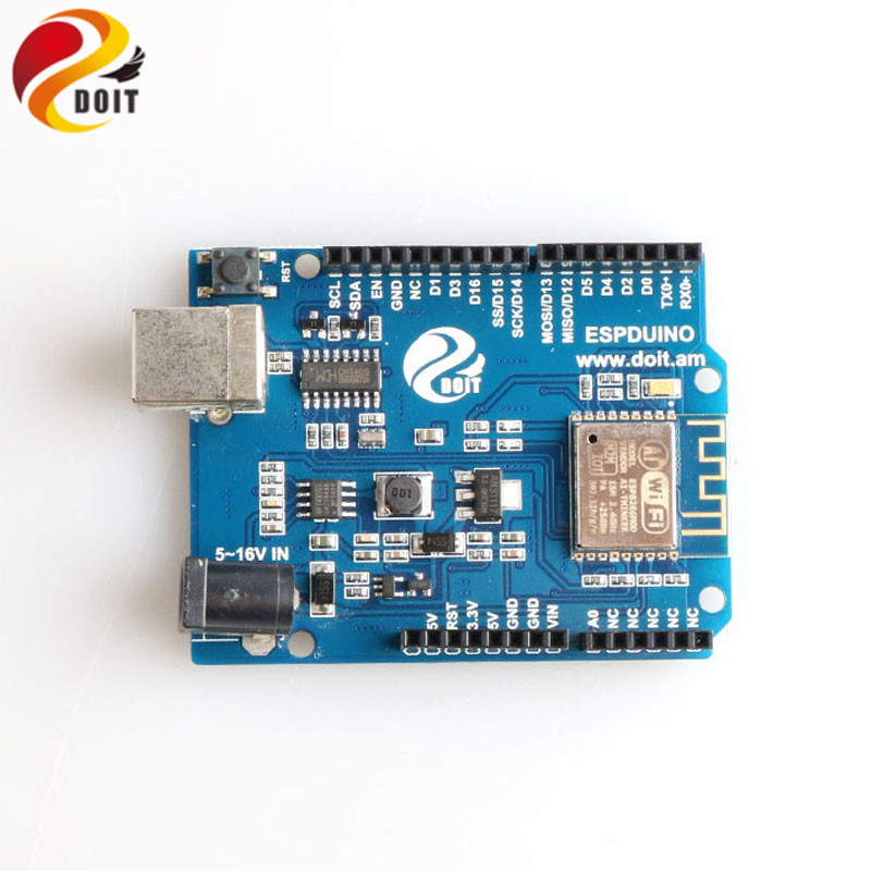 DOIT ESPDuino Compatible With Arduino UNO R3 Board Development Board WiFi Controller  From ESP8266 For Robotic Model