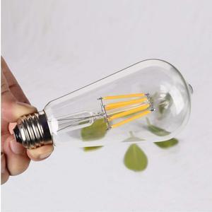 Image 4 - Светодиодная лампа GANRILAND, 12 В, 24 В, St58, E27, 4500 к, низкая мощность, 6 Вт, Эдисон, 12 В, винтажный теплый белый свет, 2700k
