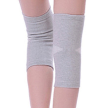 Tcare 1Pair Warm Elastic Breathable Knee Support Brace Bamboo Fiber Health Care Knee Brace Spring Stay Knee Pads