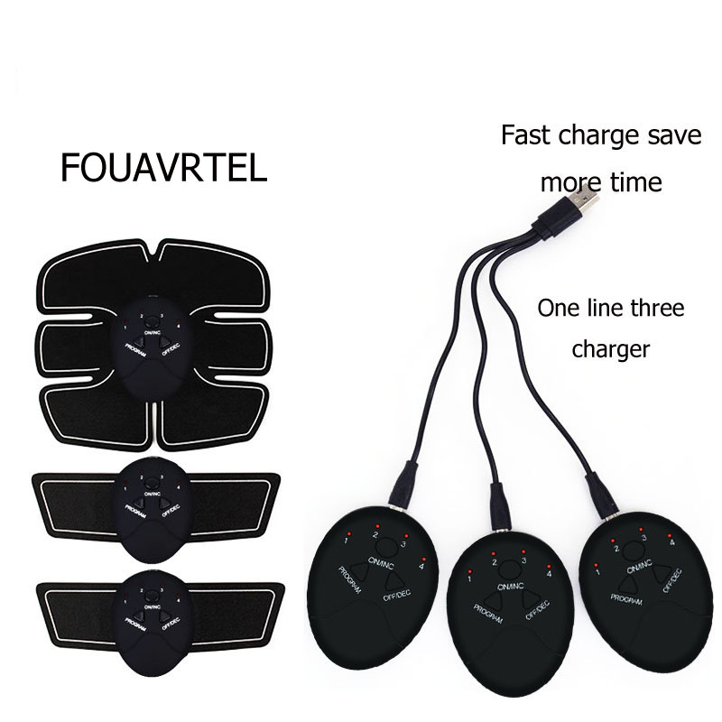 FOUAVRTEL Smart EMS Hips Trainer Electric Muscle Stimulator Wireless Buttocks Abdominal ABS Stimulator Fitness Body Massager in Massage Relaxation from Beauty Health