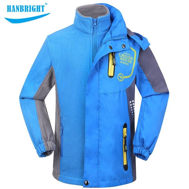 Doublure amovible pour enfants manteau extérieur chaud coupe-vent vêtements avec manteau épais automne hiver garçon Sport Wrap tissu thermique