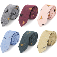 IHGSNMB Fashion Ties for Men Bowtie Cravat Set Cotton Printe