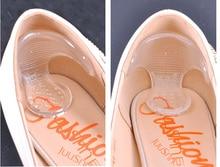 Невидимым кремнезема moonbiffy скольжению каблук прозрачные ногами высокий стельки ноги pad