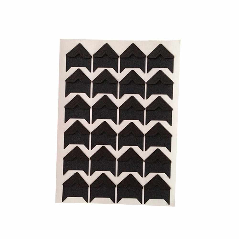 DIY Vintage Corner Kraft Paper Stickers Photo Albums Decoration Scrapbooking 12.5cm*9cm Casual Wall Stickers  Home Decorations