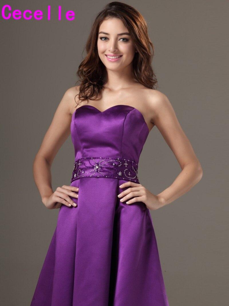 Excelente La Rodilla Vestido De Novia De Longitud Modelo - Vestido ...