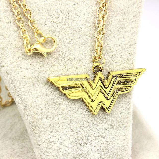 Wonder Woman Pendant Necklace