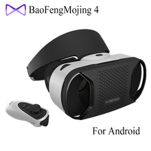 """[Genuine] Baofeng Mojing 4 IV Virtual Reality 3D VR Glasses Helmet for 4.7~6"""" Android Smartphone Android Virtual Video Glasses"""