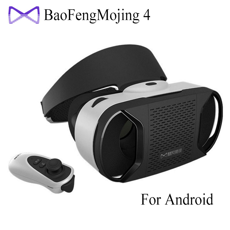 "[Genuine] Baofeng Mojing <font><b>4</b></font> IV <font><b>Virtual</b></font> <font><b>Reality</b></font> 3D <font><b>VR</b></font> <font><b>Glasses</b></font> Helmet for <font><b>4</b></font>.7~<font><b>6</b></font>"" Android Smartphone Android <font><b>Virtual</b></font> Video <font><b>Glasses</b></font>"