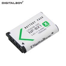 Digital Boy 1Pcs 3.6V 1500mAh NP-BX1 NP BX1 NPBX1 Rechargeable Battery camera Battery For Sony DSC-RX100 RX100 HDR-AS15