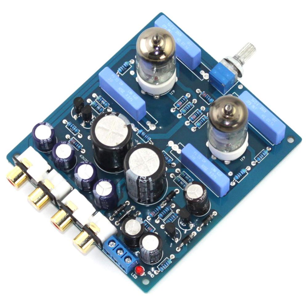 Image 3 - 6J1 2200UF/63V AC12V 0 AC12V 15W DIY Tube PreAmplifier Finished Board YJ0072-in Amplifier from Consumer Electronics