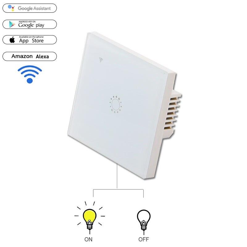 Vhome EU Standard Smart Remote Control Panel,Wifi Remote Control Light Switches,ewelink,google Home app system Smart Home