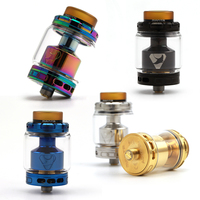 Original 2017 New Advken Manta RTA Tank Atomizer 24mm Diameter 5ml 3 5ml Capacity Top Filling