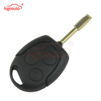 Black Remote Key 3button 433Mhz FO21 KR55WK47899 For Ford Fiesta Focus Mondeo