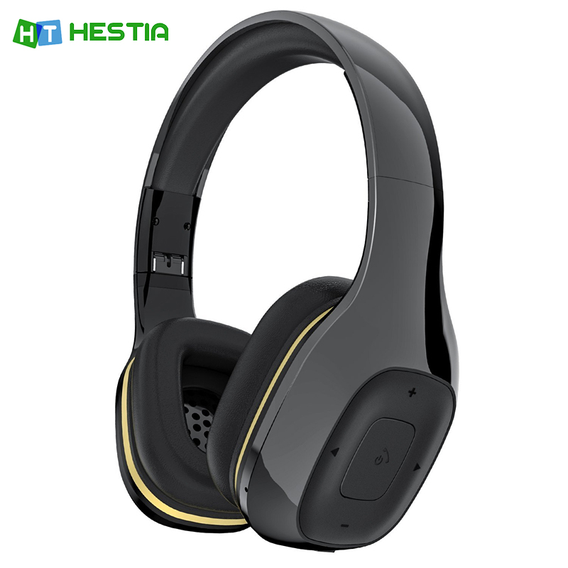 HESTIA New Original YM-550BT wireless bluetooth headphone 4.2 high quality fold headset super bass stereo earphone for phone