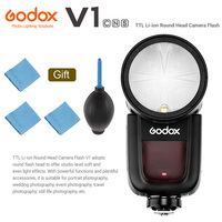 Godox V1 Flash V1C V1N V1S V1F V1O TTL 1/8000s HSS lithium battery Speedlite Flash for Canon Nikon Sony Fuji Olympus