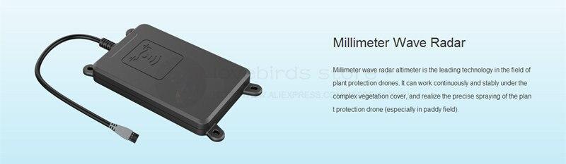 TopXgun millimeter wave radar module for DIY Agricultural mulitirotor drone