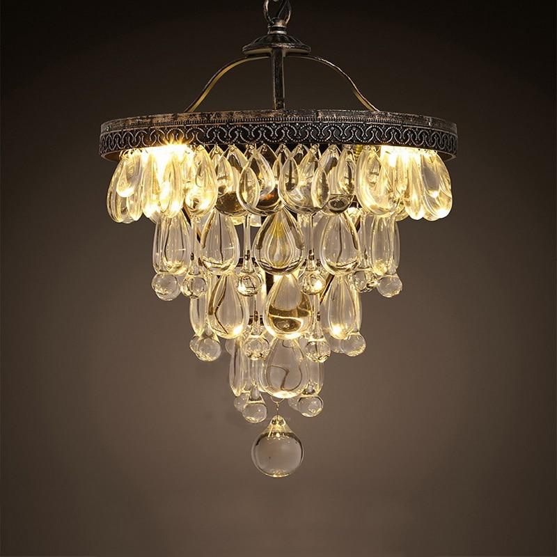 American Creative Luxury Crystal Chandelier Art Top K9 Crystal Grape Hanging Light Living Room Bar Lights Free Shipping