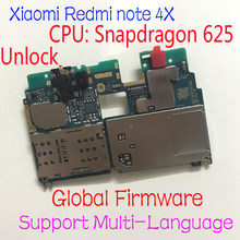 Globale Firmware Original Entsperren Xiaomi redmi note 4X hinweis 4 Globale Version Snapdragon 625 MainBoard MotherBoard Gebühr Flex Kabel(China)