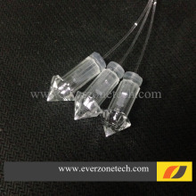 FYEP-31 Serat Optik Star Langit-langit Lampu 100 pcs Dekorasi Plastik Serat Optik End Fitting untuk 0.75mm/1.0mm/1.5mm