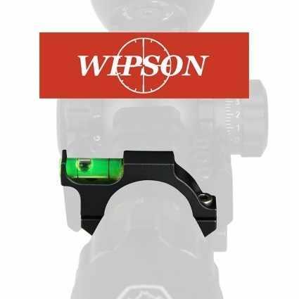 WIPSON 25,4mm 30mm Rifle de aire comprimido, anillo de nivel de burbuja para pistola de caza Airsoft, montaje del visor del Rifle adaptador