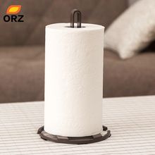 ORZ Stylish Kitchen Roll Paper Towel Holder Bathroom Tissue Toilet Stand Napkins Rack Home Table Accessories Storage