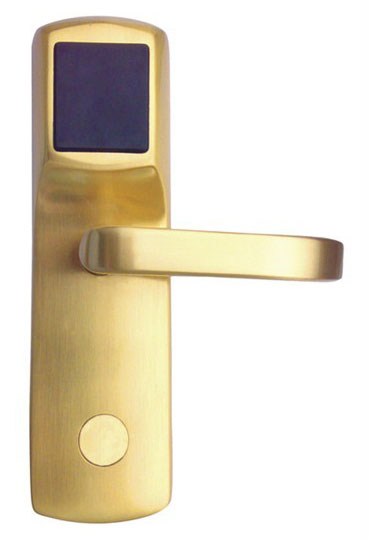 RFID T57 card hotel lock,Copper forging material, T5577 card sn:CA-8013_T rfid t5577 hotel lock stainless steel material gold silver color a test t5577 card sn ca 8006