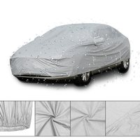 L Full Car Cover Cotton Waterproof Breathable Rain Snow Protection Anti Scratch