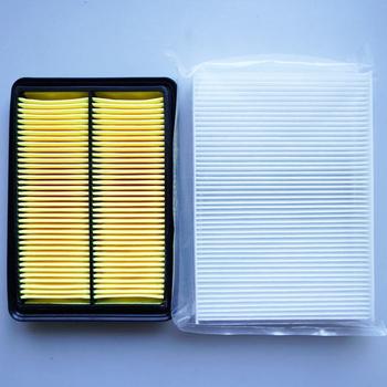 Filtr powietrza samochodowy filtr kabinowy dla Nissan X-TRAIL Qashqai 2014-2015 16546-4BA1B-C139 B7200-4BA0A-D403 tanie i dobre opinie MANATEE front 16546-4BA1B-C139 HTK-3024 HTT-2027 250mm 31mm China 173mm filter paper 0 2kg